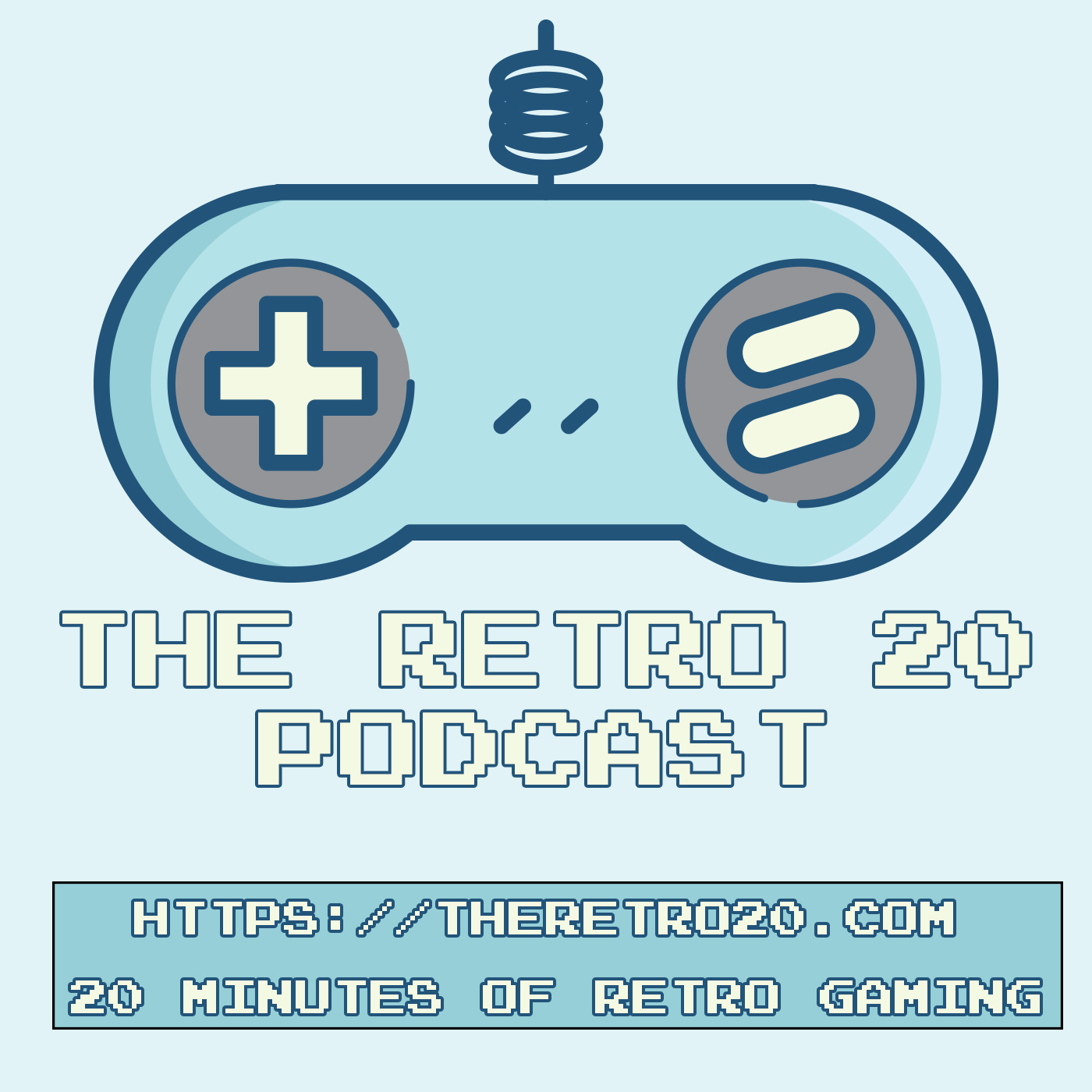 Retro Gaming Podcast Logo