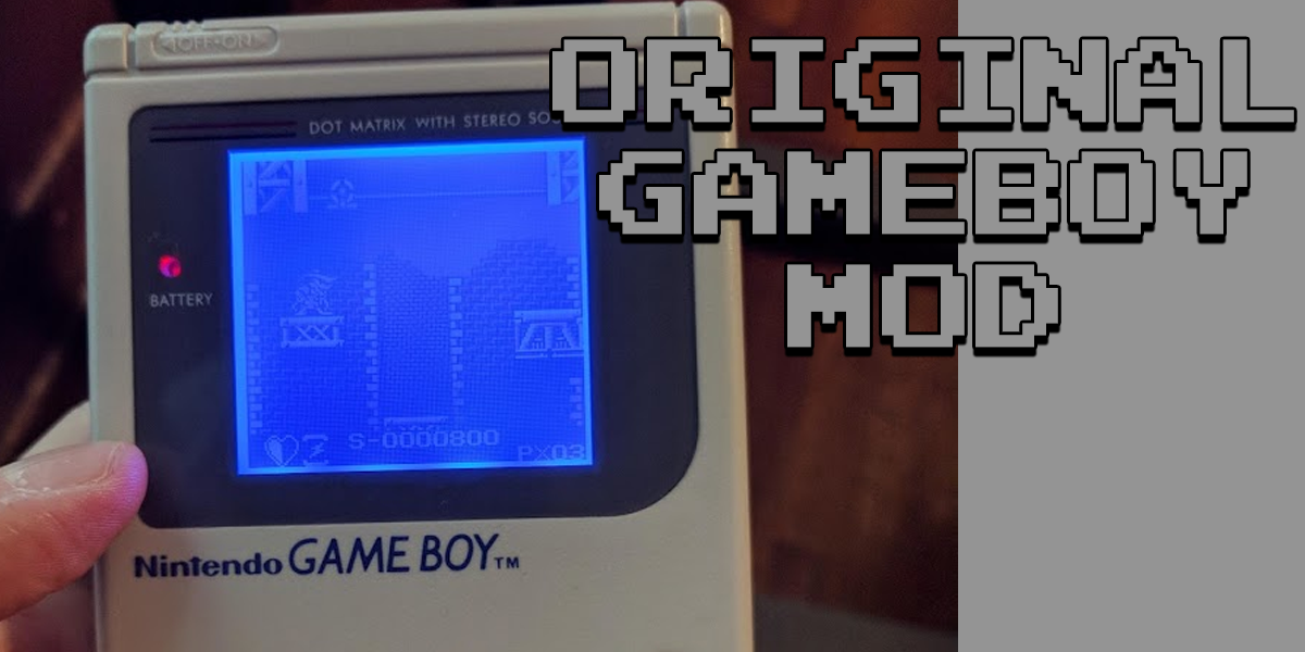 gameboy dmg backlight mod