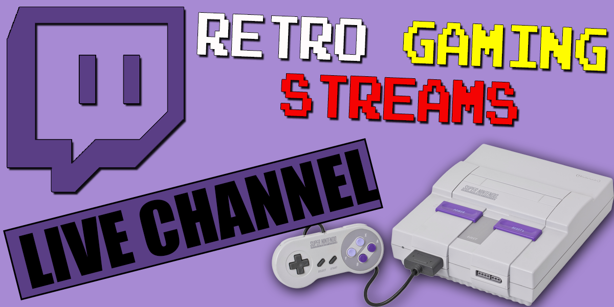 retro gaming streams