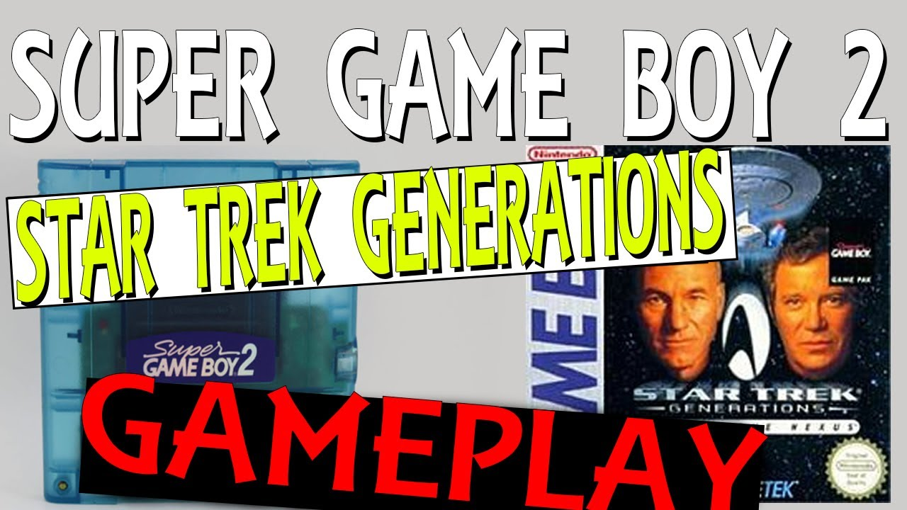 Star Trek Generations Game Boy