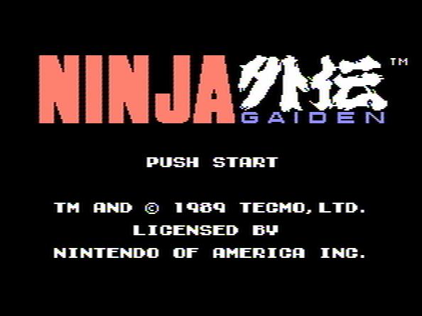 Nina Gaiden NES Game