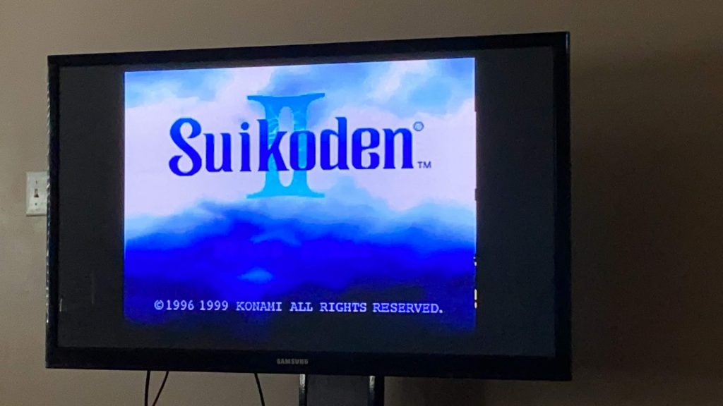 Modded PS Classic Suikoden II
